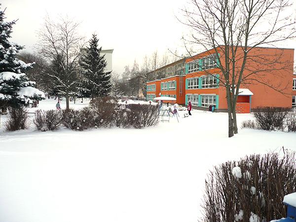 Unsere Kita im Winter